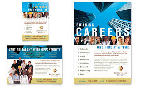 job fair flyer template employment agency jobs fair flyer ad