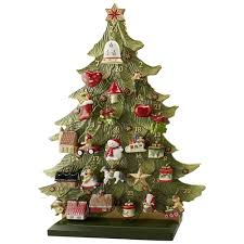 tree advent calendar with ornaments rainforest islands