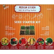 cuisine mexicaine kits de démarrage pour semis de légumes du soleil facile à utiliser