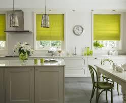 amusing kitchen roman blinds milano lime blind ideas for white