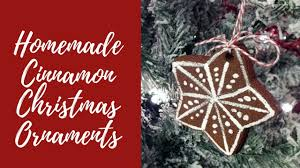 Homemade Christmas Ornaments Dough Cinnamon Homemade Cinnamon Christmas Ornaments Using Dollar Tree Items