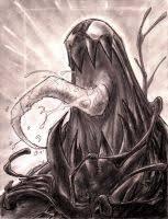 con sketch venom spidey is dead by red j on deviantart