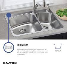 33 x 22 drop in kitchen sink elkay dayton 33 x 22 double basin drop in kitchen sink reviews