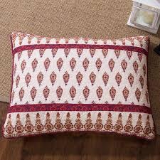 Moroccan Coverlet Dada Bedding Bohemian Moroccan Tear Drop Rubies Paisley Cotton