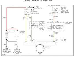 2001 ford taurus alternator electrical problem 2001 ford taurus 6