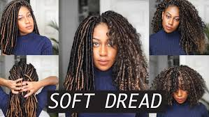 pictures of soft dred crotchet hairstyles soft dread crochet braids feat toyokalon youtube