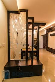 hall dining partition ideas interior design gl parion between and