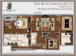 Bellagio Floor Plans Las Vegas Bellagio Floor Plan Floor Plan The Ritz Carlton Suite Hotel Design