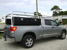 toyota tundra ladder rack custom aluminum utility racks