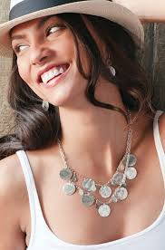 wear necklace images How to wear necklaces jpg