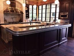 Slipcast Zinc Black Granite Countertops by 39 Best Pewter Countertops La Bastille Images On Pinterest