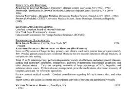 Medical Doctor Resume Example by Objectives For Resume Doctor Reentrycorps