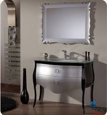 fresca fpvn7516sl bl platinum paris 45 inch glossy silver black