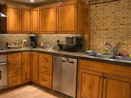 Kitchen Cabinets Particle Board Birch Wood Harvest Gold Glass Panel Door Unfinished Kitchen