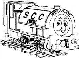 thomas train printables coloring kids tv free coloring pages