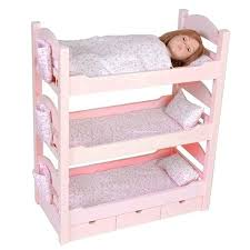 Doll Bunk Bed Plans Doll Bunk Beds 18 Inch Dolls Monthlycrescent