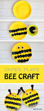 easy paper plate bee craft for kids this easy spring craft is