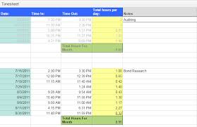 monthly timesheet template on a daily reporting basis with