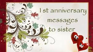 Wedding Quotes For Brother 1st Anniversary Messages To Sister Wedding Anniversary Wishes