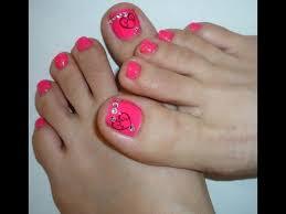 cute dark blue nail polish and cute little flowers great summer