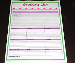 menu planner and grocery list templates for you to download