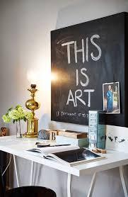 tableau noir ardoise cuisine déco peinture tableau noir 8 idées à la craie côté maison