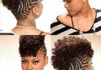 how to do a wave nouveau on natural hair mohawk natural hair style braids pinterest mohawks wave nouveau