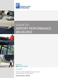 guide to airport performance measures airport airlines