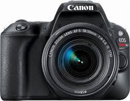 canon eos rebel sl2 dslr camera with ef s 18 55mm is stm lens
