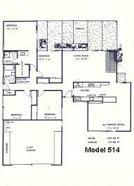 Eichler Floor Plan Fairglen 2