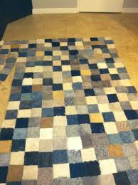 Do Rug Patchwork Rug Made From Free Carpet Samples And Gorilla Tape