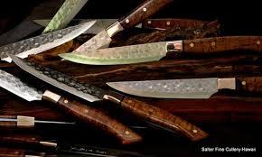 Luxury Kitchen Knives Custom Steak Knives Salter Fine Cutlery