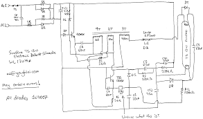 ballast wiring diagram a c system diagram ballast connection
