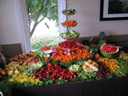 fruit displays fruit table decorations for weddings wedding fruit displays photo