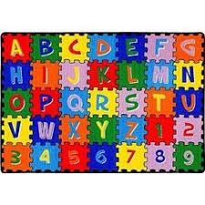 Alphabet Area Rug Kids U0027 Rugs Kids U0027 Area Rugs Kmart