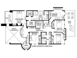 contemporary homes floor plans small slab house plans home deco plans