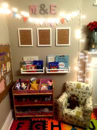create a toy and reading corner in your main living area maximize