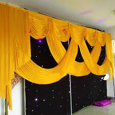 wedding backdrop aliexpress aliexpress buy 20ft and luxury wedding backdrop