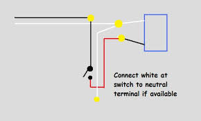 wiring power to light then switch electrical diy chatroom