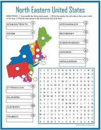 united states word search all fifty