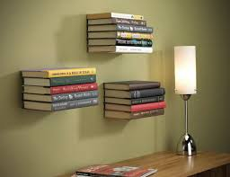 Wall Mounted Bookcase Shelves Hanging Wall Shelves For Books Best 25 Wall Bookshelves Ideas On