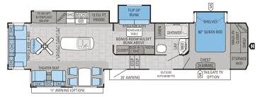 5th Wheel Rv Floor Plans Best Family Friendly Rvs Of 2016 U2013 Welcome To The General Rv Blog