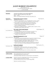 student resume template no job experience basic outline templates