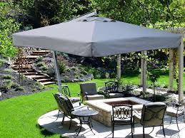 Home Depot Patio Umbrellas Cantilever Garden Parasols Choosing A Counterbalance Patio