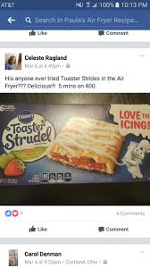 toaster strudel air fryer recipes pinterest toaster strudel
