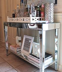 mirrored console table target target mirrored console table entry table and a bar styling