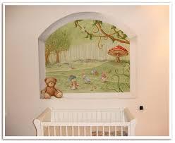 fresque chambre bébé fresque chambre bebe myfrdesign co