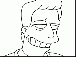 extraordinary homer simpson coloring pages simpsons
