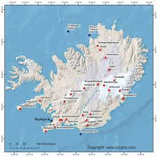 Iceland Map Location Geothermal Energy In Iceland By Ashianna Bandoo Infographic