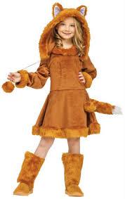 sweet fox girls fancy dress animal world book day character childs